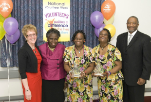 Volunteers recognized at Tuskegee VAMC