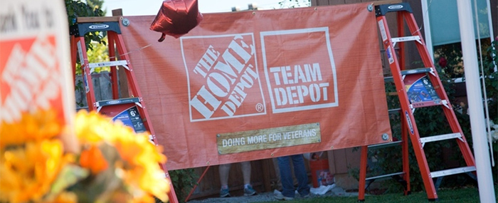 Home Depot Team doing more for Veterans